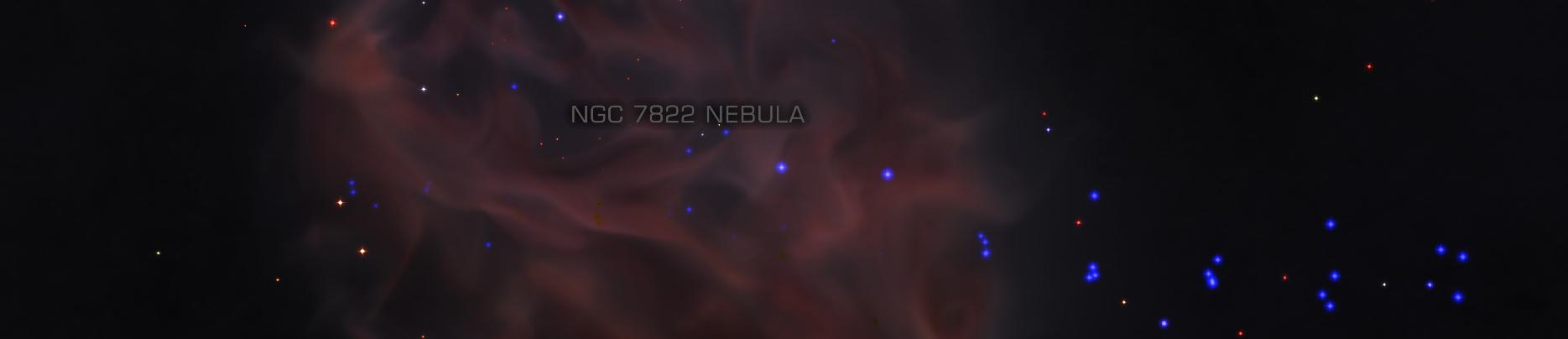 NGC 7822 Nebula - S171s