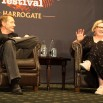 Lee Child and Sara Millican