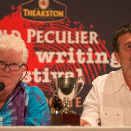Mark Billingham and Val McDermid